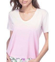t-shirt guess degrad㊠- estampado - feminino - dafiti