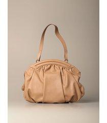 rodo shoulder bag rodo oval bag in genuine calfskin