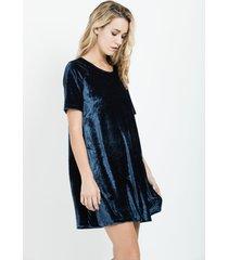vestido bonomi azul sans doute