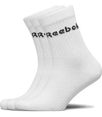act core mid crew sock 3p underwear socks regular socks vit reebok performance