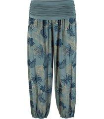 pantaloni cropped loose fit (verde) - bpc bonprix collection