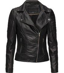 biker jacket leren jack leren jas zwart depeche