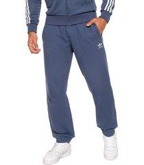 pantalón azul-blanco adidas originals trifolio