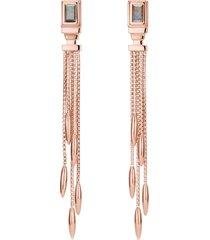 women's monica vinader baja deco fringe earrings