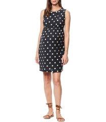 women's maternal america pleated bodice jersey maternity dress