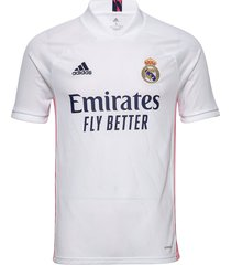 real madrid men's home jersey t-shirts football shirts wit adidas performance
