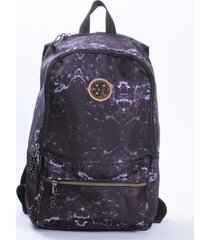 mochila escolar negro maui and sons