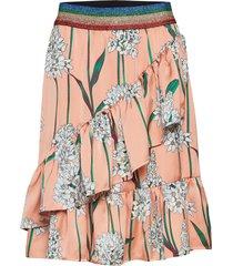 skirt knälång kjol rosa sofie schnoor