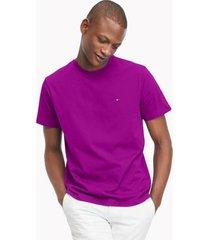 tommy hilfiger men's essential solid t-shirt magenta - xxxl