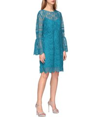 alberta ferretti dress alberta ferretti macramé dress with tulip sleeves