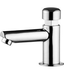 torneira para lavatório de mesa bica alta com fechamento automático smart system cromada