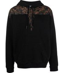 marcelo burlon camou wings regular hoodie