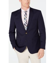 dockers men's modern-fit stretch navy textured blazer