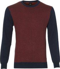 sale - jac hensen pullover - modern fit - rood