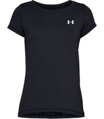 t-shirt korte mouw under armour heatgear armour racer ss top women