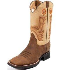 botas american style marrón 1549 siete leguas