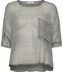cosawood t-shirts & tops short-sleeved grå american vintage