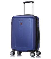 "dukap crypto 20"" lightweight hardside spinner carry-on luggage"