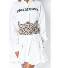 akira so fine studded corset belt