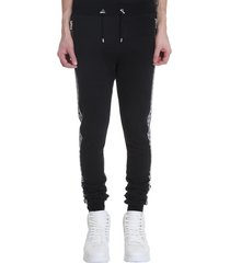 balmain pants in black viscose