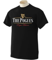 the pogues, guinness shane macgowan funny music men's t-shirt many colors s-2xl