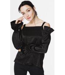 blusa negro sans dote calama