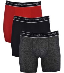 sean john men's performance boxer brief, pack of 3