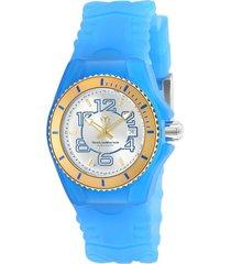 reloj technomarine tm-115130 azul silicona