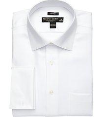 pronto uomo white french cuff dress shirt