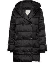 jacket outerwear heavy fodrad rock svart brandtex