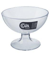 taça de sobremesa cozy 10,5 x 10,5 x 8 cm 150 mlcristal coza cristal coza