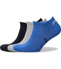 puma unisex lifestyle sneakers 3p ankelstrumpor korta strumpor blå puma