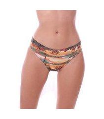 calcinha de biquini simony lingerie tanga luna beach laranja
