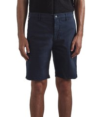 men's nn07 crown cotton blend shorts, size 38r - blue