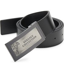 hardware leather belt