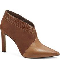 vince camuto women's sempren contrast booties women's shoes