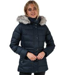 womens essential monogram down filled jacket