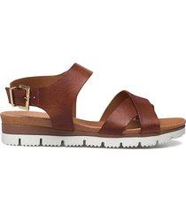 biadebra suede sandal shoes summer shoes flat sandals brun bianco
