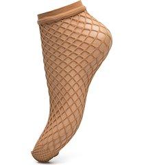 net socks footies träningssockor/ankle socks beige wolford