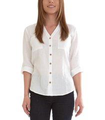 bcx juniors' cotton shirt