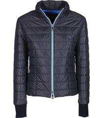 fay blue padded jacket