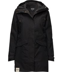 womens rain jacket from the se parka rock jacka svart tretorn