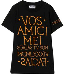moschino embroidery t-shirt