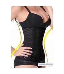 cinta modeladora slim redutora abdominal elástica
