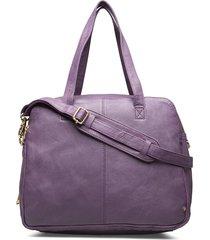 golden deluxe large bag bags top handle bags paars depeche