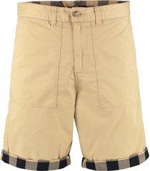 woolrich buffalo cotton bermuda shorts