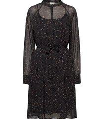 elsa dress knälång klänning svart minus