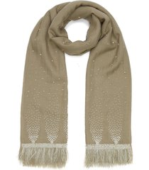 pearl sparkle cashmere scarf