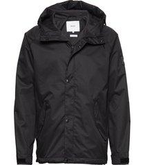 region jacket regnkläder svart makia