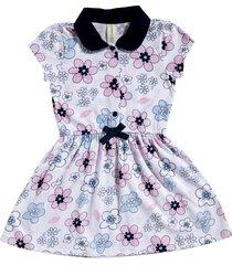 vestido ana miniprint flores